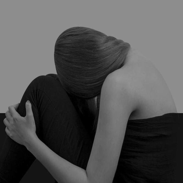 traurig depressiv